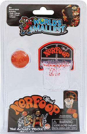 World's Smallest Official Nerfoop - Sweets and Geeks