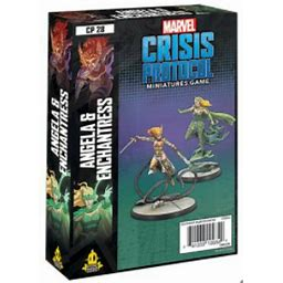 Marvel Crisis Protocol: Angela and Enchantress - Sweets and Geeks