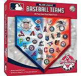 MLB Logos 500pc Puzzle - Sweets and Geeks