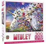 Unicorns and Butterflies 300pc Puzzle - Sweets and Geeks