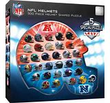NFL Helmets 500pc Puzzle - Sweets and Geeks