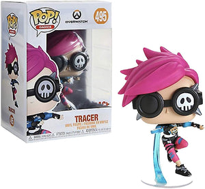 POP! Funko Overwatch - Tracer (Punk Skin) Hot Topic Exclusive #495 - Sweets and Geeks