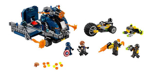 Marvel Avengers Truck Take-down - Sweets and Geeks