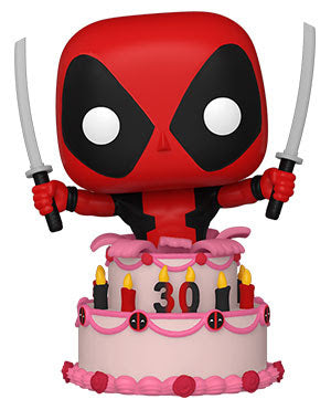 Funko POP! Marvel: Deadpool 30th - Deadpool in Cake (Preorder) - Sweets and Geeks