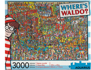 Where's Waldo 3,000pc Puzzle - Sweets and Geeks