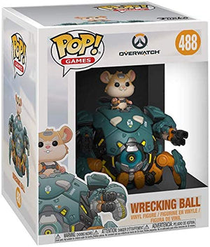 Funko Pop! Games: Overwatch - Wrecking Ball #488 - Sweets and Geeks