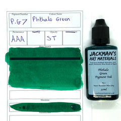 Phthalo Green Pigment Ink