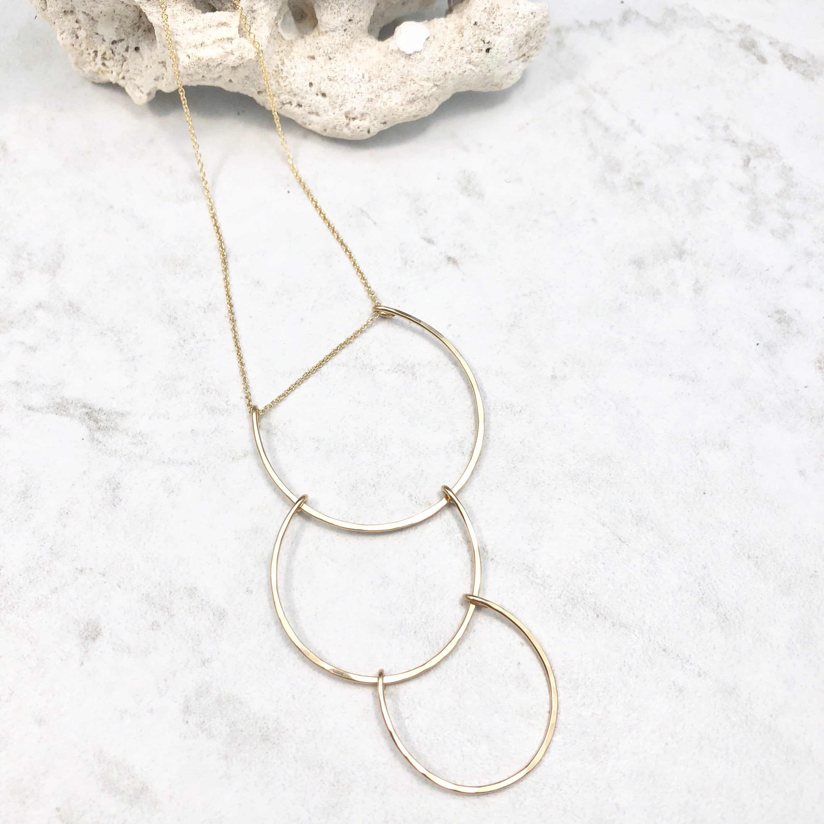 Gold Supernova Necklace