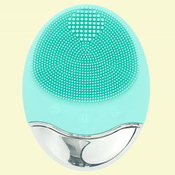 DES VU 2-in-1 Ultrasonic Facial Cleanser and Massager