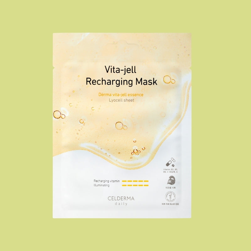 Celderma Daily Vita-Jell Recharging Masks 10pc