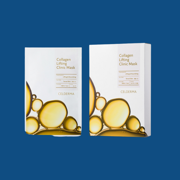Celderma Collagen Lifting Hydrating Gel Masks 10pc
