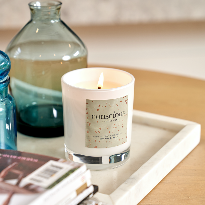 Conscious Candle Co Adriatic Pear & Fig Nectar Eco Soy Candle