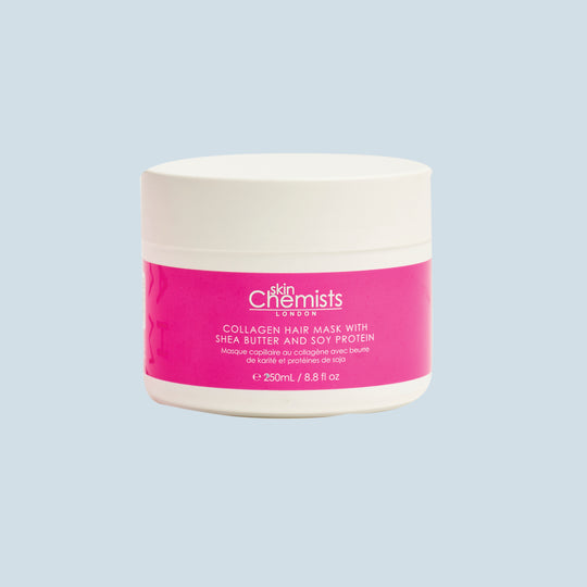 Skin Chemists London Collagen Hair Mask with Shea Butter & Soy Protein