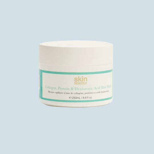 Skin Research London Collagen, Protein & Hyaluronic Acid Hair Mask
