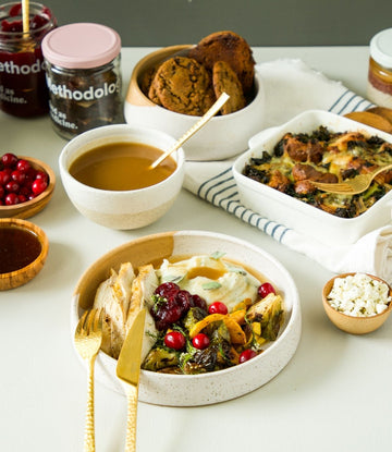 All Day Thanksgiving Kit: from Breakfast to Dessert (serves 4)