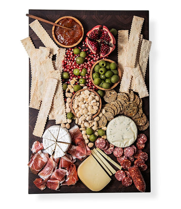 Artisanal Cheese and Charcuterie Plate Kit (serves 8)
