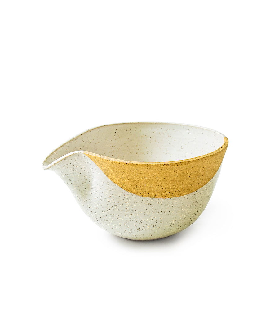 Iron Stoneware Batter Bowl