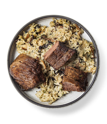Grass-Fed Beef Short Ribs + Truffle Risotto