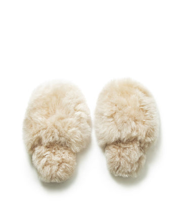 Millie Alpaca House Slippers
