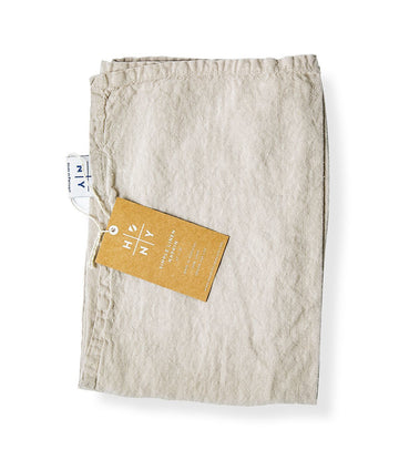 Hawkins NY Light Gray Linen Napkins (Set of 2)