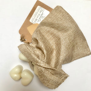 Hessian Bag of 20 Large Wax Melts