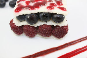 The Red, White & Blue Berry Dessert