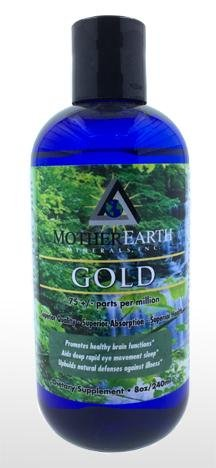 Angstrom Minerals - Gold 8 oz - Natural Zing