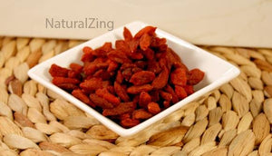 Authentic Tibetan Goji Berries 8 oz - Natural Zing