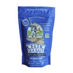 Celtic Sea Salt, Light Grey, 1 lb - Natural Zing