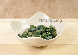 Chlorella Tablets, 1 kg 250 mg - Natural Zing