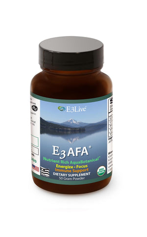 E3 AFA Powder (Blue-Green Algae) 50 g - Natural Zing