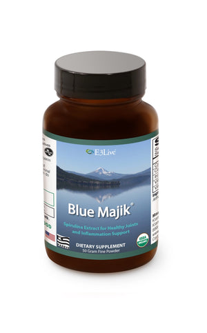 E3 Blue Majik Powder 50 g - Natural Zing