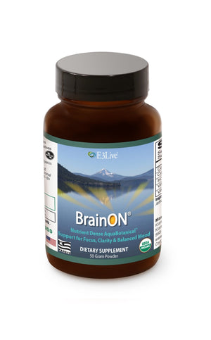 E3 BrainOn (Blue-Green Algae) 50 g - Natural Zing