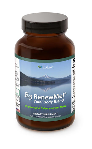 E3 Renew Me! Total Body Blend, 120 vcaps - Natural Zing