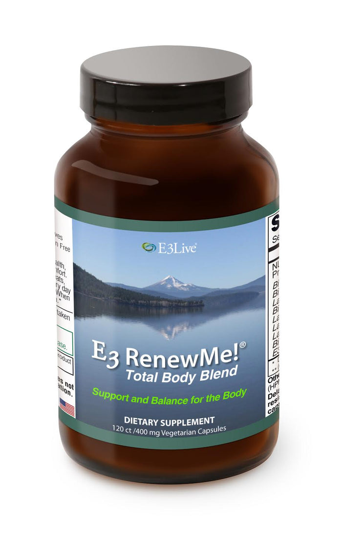 E3 Renew Me! Total Body Blend, 120 vcaps