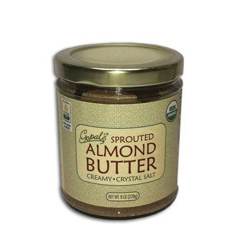 Gopal's Sprouted Almond Butter (Himalayan Salt) 8 oz