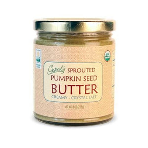 Gopal's Sprouted Pumpkin Seed Butter (Himalayan Salt) 8 oz - Natural Zing
