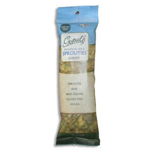 Gopal's Sprouted Pumpkin Seeds, Cheesy Flavor, 2 oz - Natural Zing