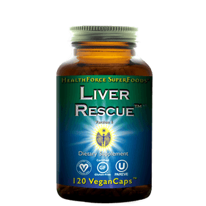 Liver Rescue 5+ 120 vcaps - Natural Zing