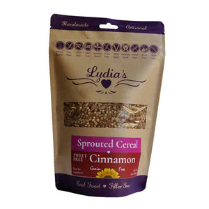 Lydia's Sweet-Free Cinnamon Cereal 12 oz, Pack of 6 - Natural Zing