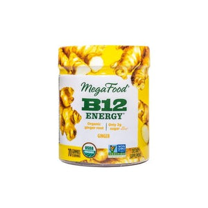 Megafood B12 Energy Gummy Ginger - Natural Zing