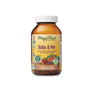 Megafood Baby and Me, 120 vcap - Natural Zing