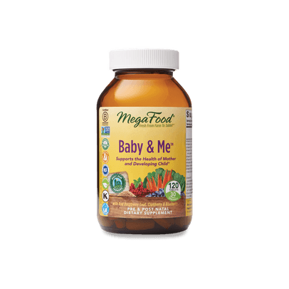 Megafood Baby and Me, 120 vcap