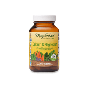 MegaFood Calcium and Magnesium 60 tablets - Natural Zing