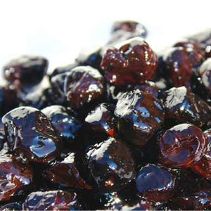 Moroccan Style Raw Dried Black Olives in water, 12 oz - Natural Zing