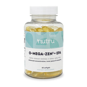 O-Mega-Zen3 Vegan + EPA Supplement, 60 softgels - Natural Zing