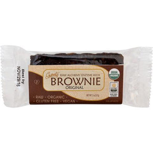 Raw Alchemy Brownie 2 oz, case of 12 - Natural Zing