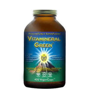 Vitamineral Green, 400 vcaps - Natural Zing