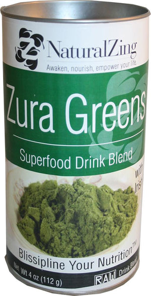 Zura Greens Superfood Blend - Natural Zing