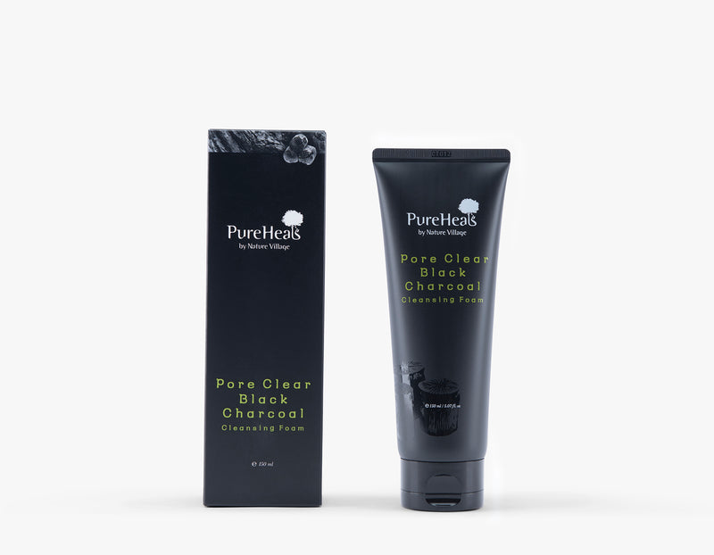 Pore Clear Charcoal Cleansing Foam